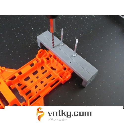 X/XXシャーシ用のバンパー加工治具